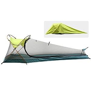 Rhino Valley Tente de Camping d'une Personne,Tente Extérieure Instantanée Légère Imperméable Portative, Abri de Soleil…