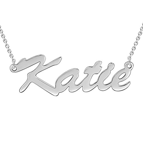 SOUFEEL Custom Name Necklace Katie Style Personalized Neckla