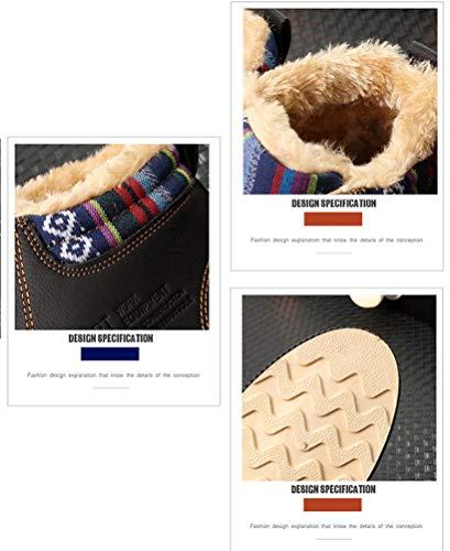 Blue Stivali 5 EU Scennek Blu Neve Uomo da 39 nPqwqT01Xd