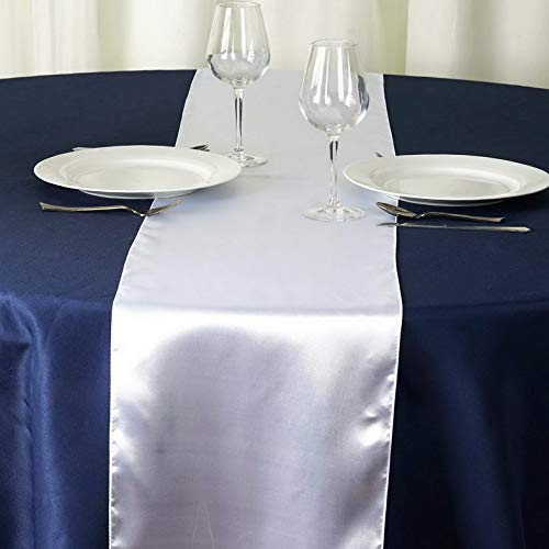 Mikash ~New~ Satin Table Runner Wedding Party Banquet Decoration 15+ Colors! | Model WDDNGDCRTN - 19341 |