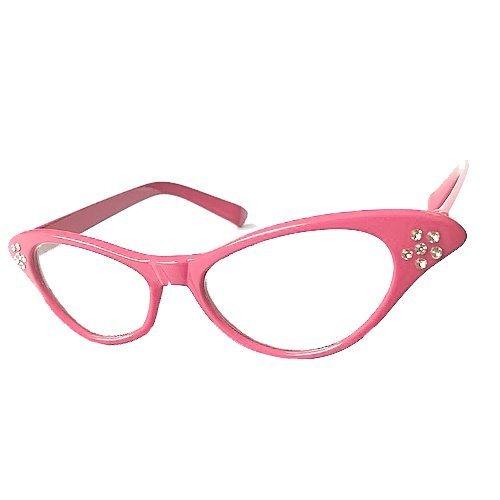 4 opinioni per Gleader Occhiali rosa da donna in stile Rock e Roll degli anni 50