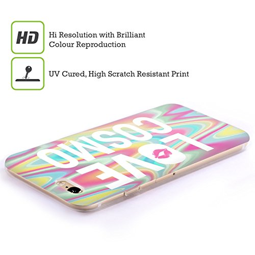 Official Cosmopolitan Psychedelic Cosmo Iridescence Soft Gel Case for Apple iPhone 4 / 4S