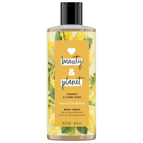 Body Wash Beauty - Love Beauty and Planet Coconut and Ylang Ylang Body Wash (Pack of 2)