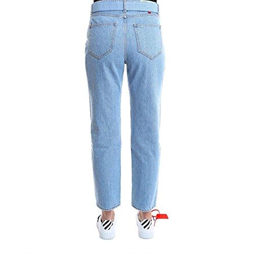 Jeans Donna white Off Azzurro Owya004s189551447101 Cotone wqAq57C