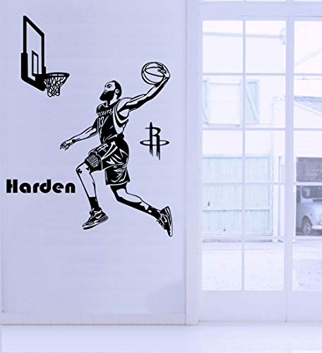 Basketball Dunk Sport Removable Wall Art Decal Vinyl Sticker Mural Decor Boy Girl Teen Baby NBA DIY Home Decorations