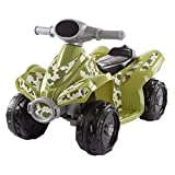 Lil' RiderRide-On Toy ATV -Battery Operated Electric 4-Wheeler for Toddlers with Included Battery Charger and Push Button Start (Green Camo)