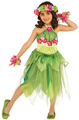 Rubie's Costume 630959-S Child's Hawaiian Dancer Costume, Small, Multicolor (Pack of 4) -