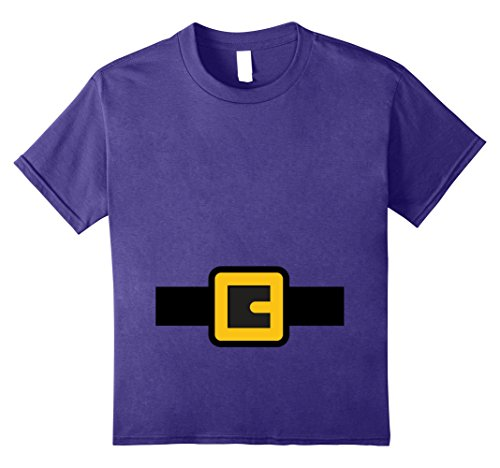 Kids Dwarf Costume Shirt, Halloween Matching Shirts for Group 8 Purple