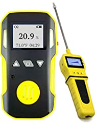 The professional OXYGEN gas detector + PUMP by FORENSICS has all the advanced features and functions made with highest quality electrochemical sensors made in the UK. Pump allows for point probe sampling or continuous sampling. Comes factory ...
