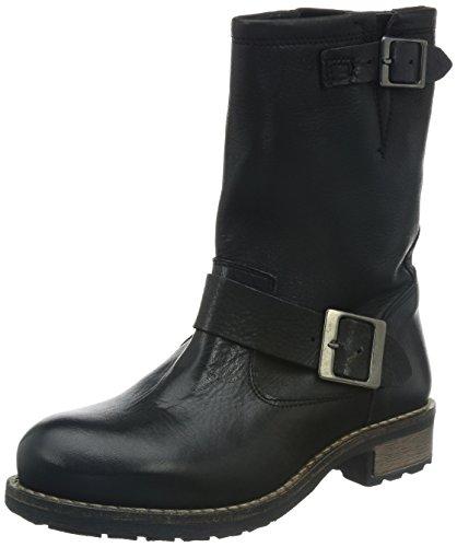 Buffalo London 2515 Damen Biker Boots Schwarz (Black 01)