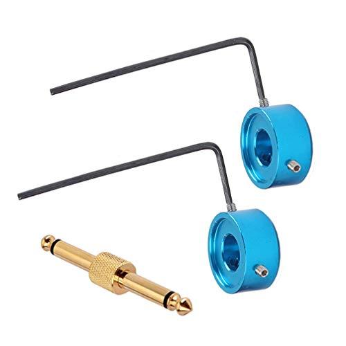 Healifty Conector pedal efecto guitarra con llaves para ahorrar ...