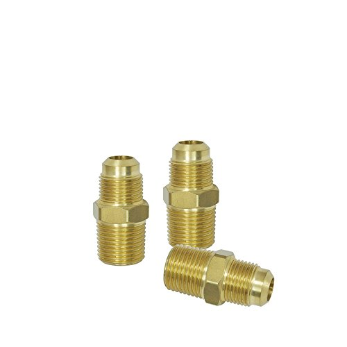 NIGO Brass Tube Fitting, Half-Union, 1/2