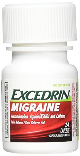 Excedrin Migraine Caplets for Migraine Pain Relief, 24 count ()