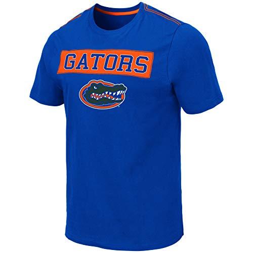 (Colosseum Men's NCAA -Loud and Proud-100% Cotton T-Shirt-Team Colors-Florida)