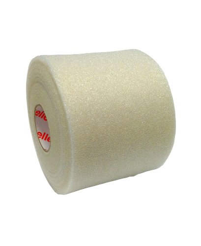 Mixed Colors Bulk Prewrap for Athletic Tape - 12 Rolls, Natural