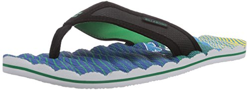 Billabong Spirit, Men's Flip Flops Multi-coloured - Mehrfarbig (Lime 39)