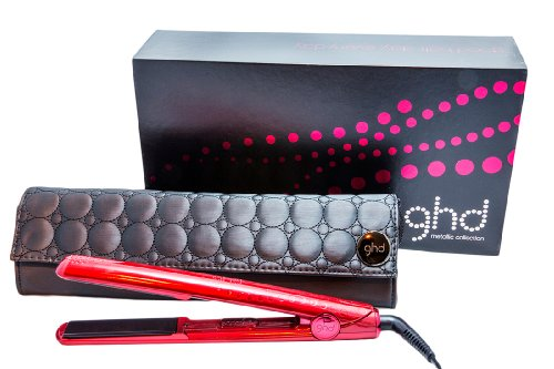 GHD Metallic Collection Professional Styler, Ruby, 1 Inch