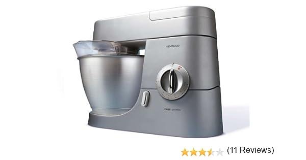 Kenwood - Robot De Cocina Kmc560 Premier Chef; 1000W; Bol Acero Inox. 4,6L: Amazon.es: Hogar