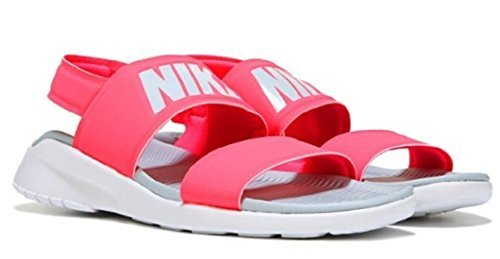 outlet store 998a2 87475 Galleon - Nike WMNS Tanjun Sandal Mens Fashion-Sneakers 882694-601 11 -  Solar RED Light Pumice-Pure Platinum