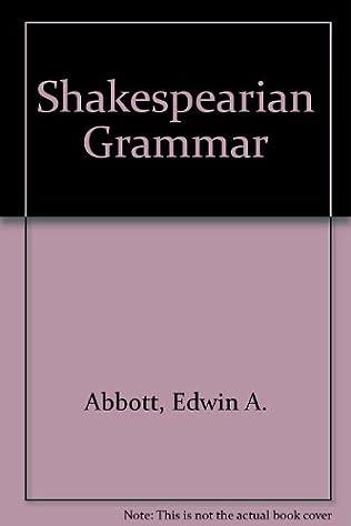 book cover of A Shakespearian Grammar