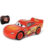 Dickie Toys - 203084028 - RC Bilar 3 Blixten McQueen Turbo Racer - Radiostyrd bil, Turbofunktion, USB-laddning, 2 Kanaler, 2,4 Ghz, 1:24, 17 cm, Från 4 år