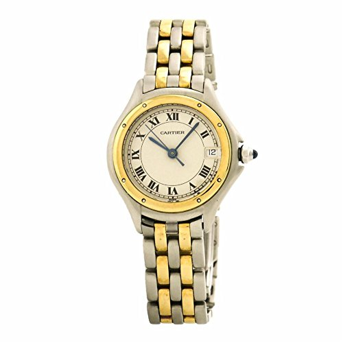 Cougars Womens Watch (Cartier Cougar swiss-quartz womens Watch 187906 (Certified Pre-owned))