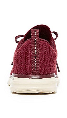 Apl: Laboratori Di Propulsione Atletica Womens Techloom Pro Sneakers Burgundy / Pergamena