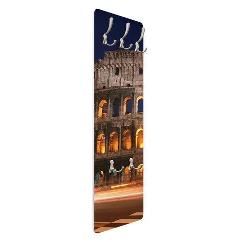 Perchero de - Coliseo En Roma por La Noche 139 x 46 x 2 cm ...