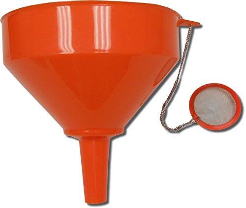 King Kooker 10OF Plastic Food Grade Funnel and Strainer, 10-Inch, Model: 10OF, Outdoor/Garden Store, Repair & Hardware by Outdoor Gear & Hardware