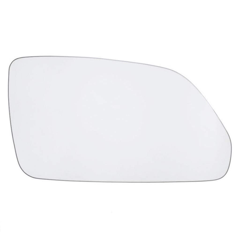 Morza 1Z1857522F 6Q0857522K Lato Destro dello Specchio di Rearview Vetro di Ricambio Bianco per Polo 2005-2009