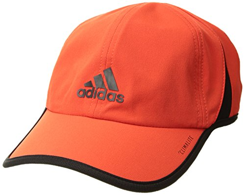 adidas Men's Superlite Relaxed Performance Cap, Hi-Res Red/Black, One Size Adidas Red Wristband