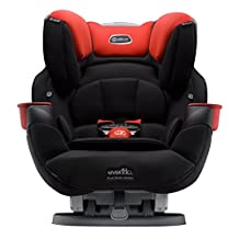 Evenflo Platinum SafeMax All-in-One Car Seat, Mason, Black, Red, One Size