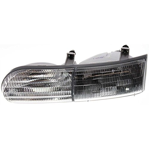 - New Front Left Side Halogen Headlight Assembly For 1992-1995 Ford Taurus Exc. Sho Model FO2502117 F2DZ13008B