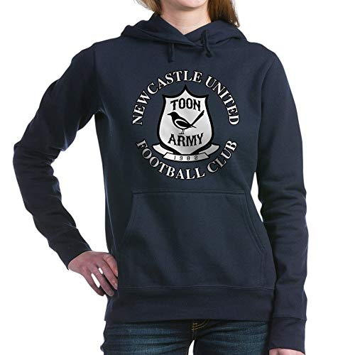 (CafePress NUFC and Crest Pullover Hoodie, Classic & Comfortable Hooded Sweatshirt Navy )