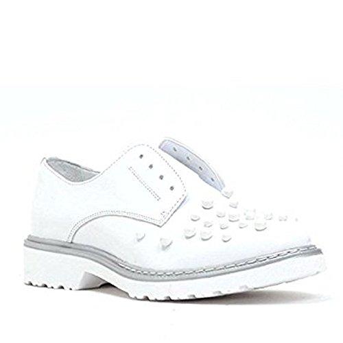 para de Bianco blanco Cult mujer Piel Zapatillas tZgqwp