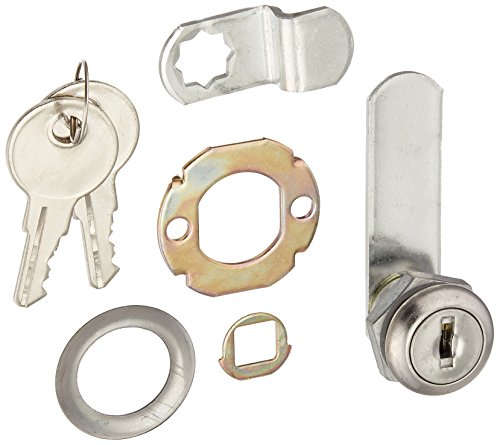 NATIONAL MFG/SPECTRUM BRANDS HHI N185-272 Utility Lock, 1/4-Inch, Chrome (Drawer Utility Lock)