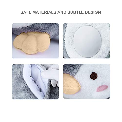Baby Shower Shusher White Machine with 40 Soother Portable Soft Animal