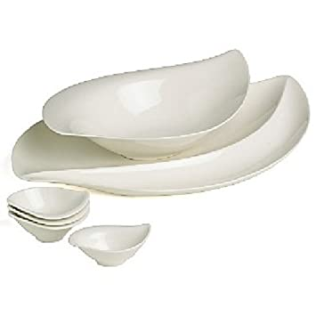 Villeroy u0026 Boch New Cottage 6 Pc Serving Set  sc 1 st  Amazon.com & Amazon.com | Villeroy u0026 Boch New Cottage 6 Pc Serving Set ...