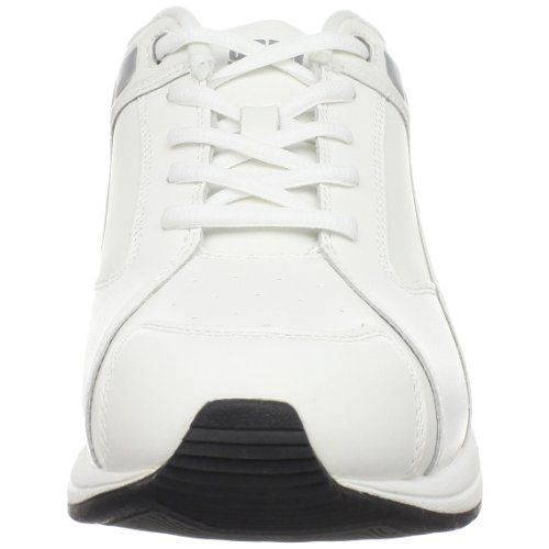 Drew Shoe Mujeres Motion Lace Up Casual, Cuero Blanco, 9 Us