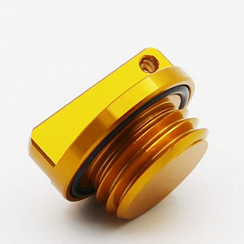 - ESUBOSHI Motorcycles Engine Oil Filler Cap Plug For Yamaha R1 R3 R6 FZ1 FZ6/R FZ07 FZ8 FJR1300 MT01 MT07 YFM600 FZR FZS TDM XVS650 TZ250 (yellow)
