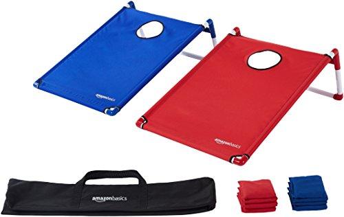 AmazonBasics Portable PVC Framed Cornhole Set