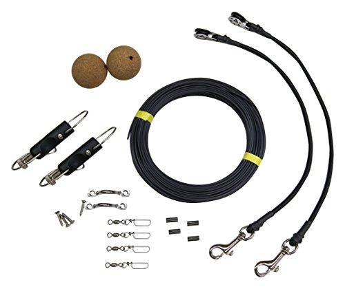 Tigress 88603-1, Elite Mono Rigging Kit for Big Game Kite Fishing Such as Shark, Wahoo, Mahi Mahi, Tuna or Sailfish