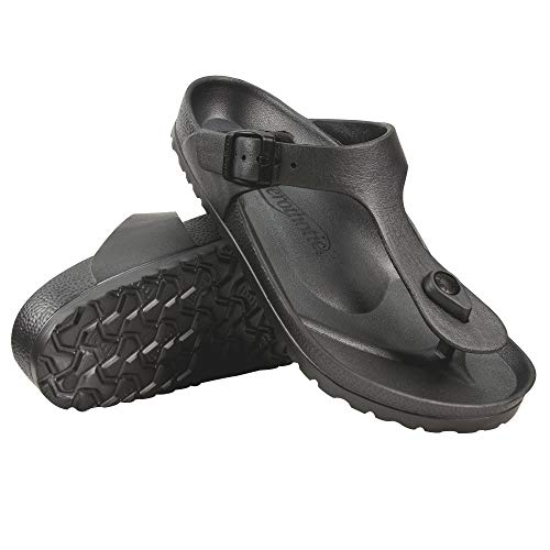 AEROTHOTIC - Water Friendly Light Weight EVA Sandals and Flip Flops for Women - One Piece Technology (11 Aerothotic = (US 10 / EU 41), Cybele Grey)