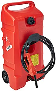 Duramax Flo n' Go LE Fluid Transfer Pump and 14-Gallon Rolling Gas