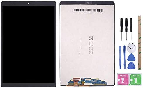 YeeLing LCD Display + Outer Glass Touch Screen Digitizer Full Assembly Replacement for Galaxy Tab A 10.1 2019 T510 T515 T510F T515F SM-T510 SM-T515 Black