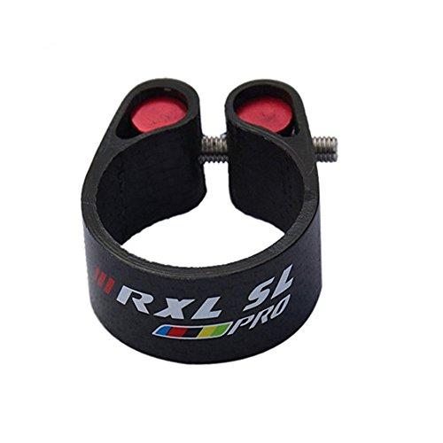 RXL SL Carbon Fiber Racing Bicycle Seatpost Clamp MTB/Road Bike Seat Post Clamps 31.8mm Seatpost 27.2mm Bike Cycling Parts RXL1648SL - Clamp Carbon