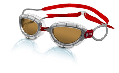 Zoggs Predator Polarized Clear Red Swimming product image
