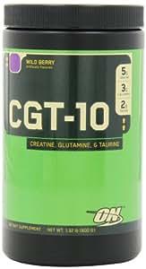 Optimum Nutrition Creatine Glutamine Taurine, Wild Berry, 1.32 Pound (Pack of 2)