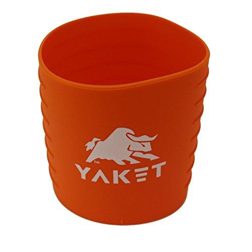 YAKET Rambler Tumbler Sunset Orange