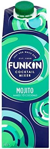 Funkin Cocktail Mixer Mojito 1L (Pack de 6 x 1ltr): Amazon.es ...